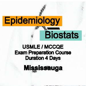 Epidemiology, Biostats  for MCCQE/USMLE